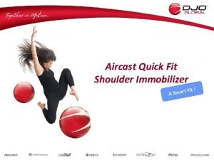 Aircast Quick Fit Shoulder Immobilizer Fit t r