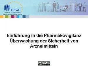 Europische Patientenakademie zu Therapeutischen Innovationen Einfhrung in die