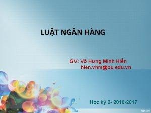 LUT NG N HNG GV V Hng Minh