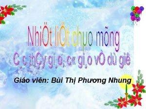 Gio vin Bi Th Phng Nhung Th nm