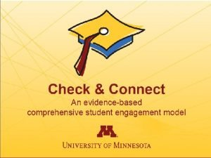1 2 Check Connect Intervention Model Check Connect