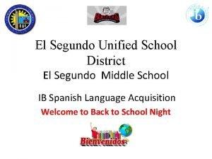 El Segundo Unified School District El Segundo Middle