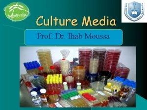 Culture Media Prof Dr Ihab Moussa Culture Media