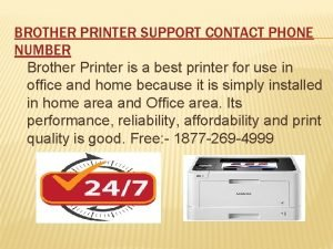 BROTHER PRINTER SUPPORT CONTACT PHONE NUMBER Brother Printer