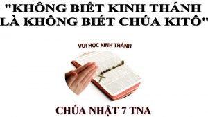 CHA NHT 7 TNA TIN MNG CHA GISU