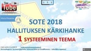 1 5 1 SOTE 2018 HALLITUKSEN KRKIHANKE 1