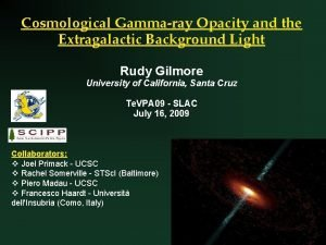 Cosmological Gammaray Opacity and the Extragalactic Background Light