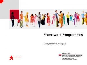 Framework Programmes Comparative Analysis Rationale Set of cofinancing