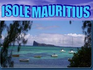 Nome completo del paese Repubblica di Mauritius Superficie