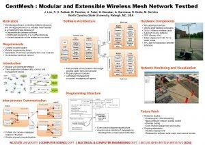 Cent Mesh Modular and Extensible Wireless Mesh Network
