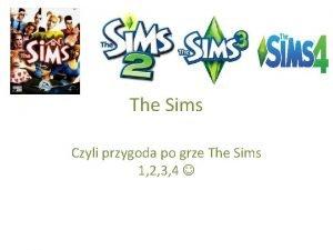 The Sims Czyli przygoda po grze The Sims