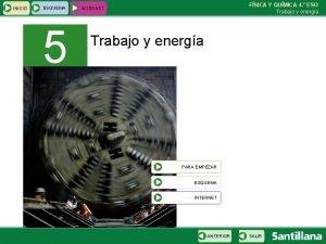 INICIO ESQUEMA 5 FSICA Y QUMICA 4 ESO
