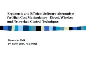 Ergonomic and Efficient Software Alternatives for High Cost