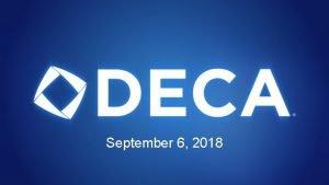 September 6 2018 Dues Membership Dues 50 Includes