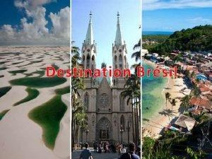 Destination Brsil Avec ses plages innombrables ses paysages