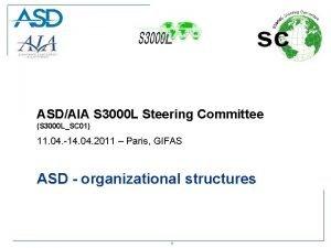 ASDAIA S 3000 L Steering Committee S 3000