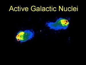 Active Galactic Nuclei Active Galactic Nuclei AGN Nuclei