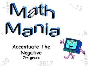 1 1 2 3 6 Accentuate The Negative