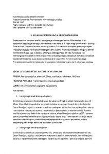 Kvalifikacija prehrambeni tehniar Nastavni predmet Prehrambena mikrobiologija vjebe