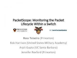 Packet Scope Monitoring the Packet Lifecycle Within a
