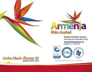 Maydenrocio Rojas Vsquez Secretaria de Desarrollo Social mrojasvarmenia