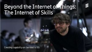 Beyond the Internet of Things The Internet of