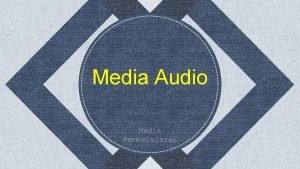 Media Audio Media Pembelajaran 2 Anggota Kelompok Dita