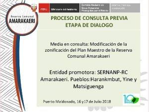 PROCESO DE CONSULTA PREVIA ETAPA DE DIALOGO Media