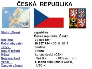 ESK REPUBLIKA 1 2 3 Sttn zzen republika