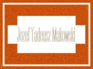 Jozef Tadeusz Makowski pintor ilustrador e artista grfico