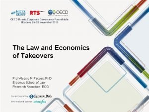 OECD Russia Corporate Governance Roundtable Moscow 25 26