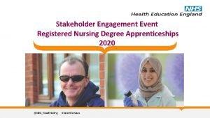 Stakeholder Engagement Event Registered Nursing Degree Apprenticeships 2020