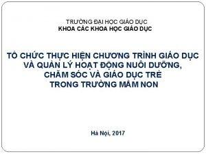 TRNG I HC GIO DC KHOA CC KHOA