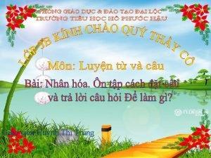 Gio vin Hunh Th Trung Th nm ngy