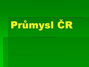 Prmysl R Top 10 eskch firem Energetick prmysl