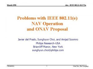 Month 1998 doc IEEE 802 11 01272 a