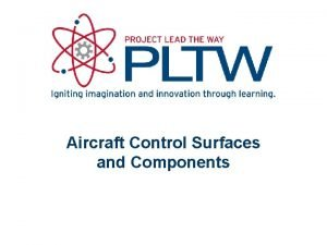 Aircraft Control Surfaces and Components Aircraft Components and