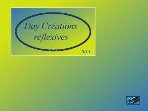 Day Crations rflexives 2013 Cordoue estsitue 160 kmaunordde