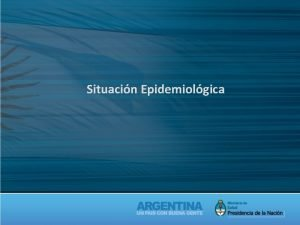 Situacin Epidemiolgica Situacin Epidemiolgica Temas a abordar Dengue
