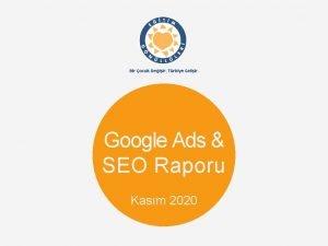Google Ads SEO Raporu Kasm 2020 Google Ads