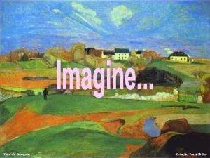 Tela de Gauguin Criao Tomi Slides Tela de