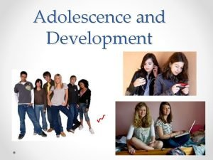 Adolescence and Development Your Sexuality Sexuality refers to