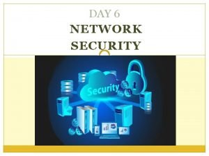 DAY 6 NETWORK SECURITY What is Network security