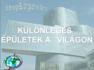 KLNLEGES PLETEK A VILGON 1 The Crooked House