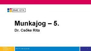Munkajog 5 Dr Cske Rita Munkajog Pszicholgus MSc