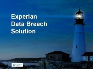 Experian Data Breach Solution Experian Data Breach Resolution