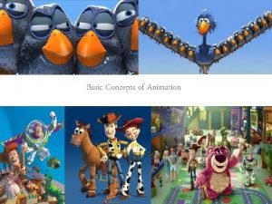 Basic Concepts of Animation Basic concepts of Animation