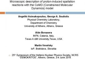Microscopic description of protoninduced spallation reactions with the