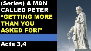 Series A MAN CALLED PETER GETTING MORE THAN