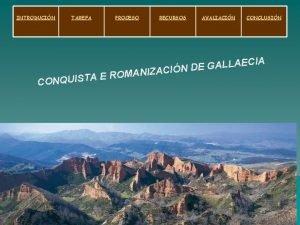 INTRODUCIN TAREFA PROCESO RECURSOS AVALIACIN CONCLUSIN IA C